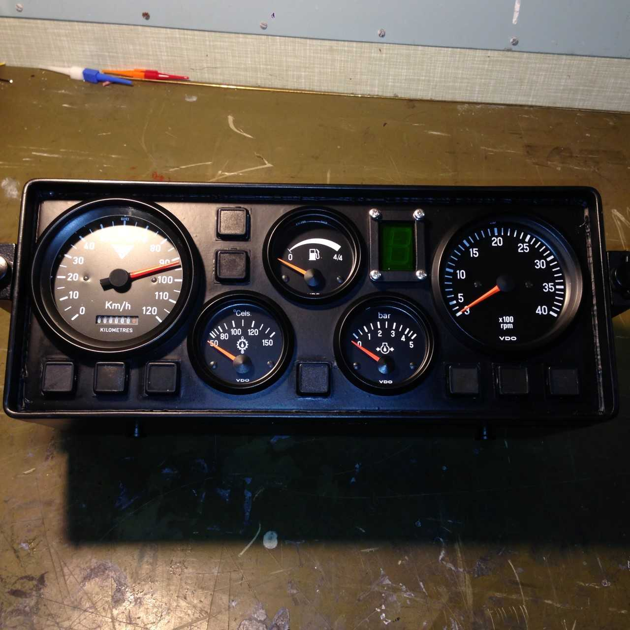 Stormer Drivers Instrument Panel