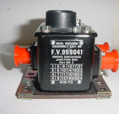 CVRT Smoke Discharge Junction Box