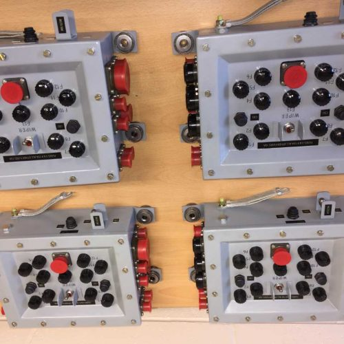Control Power Supply Box Assembly - CVRT Fuse Panel