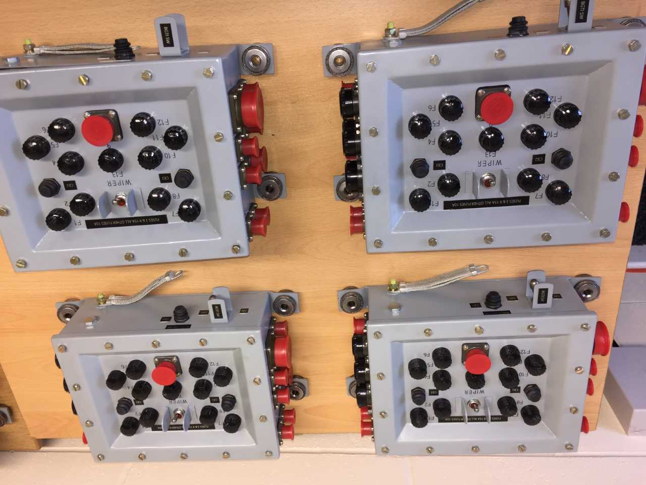 Control Power Supply Box Assembly